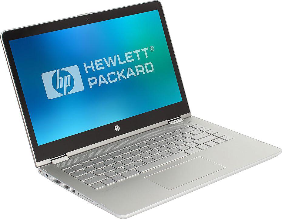 14 Ноутбук HP Pavilion x360 14-ba103ur 2PQ09EA, серебристый ноутбук hp pavilion 14 bf102ur 2pp45ea