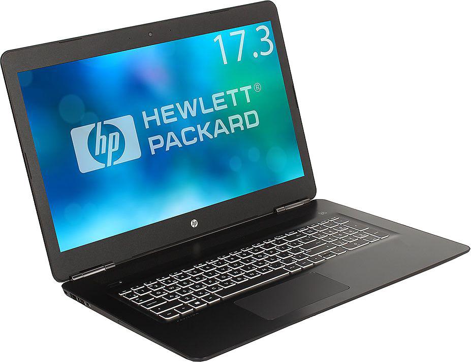 17.3 Игровой ноутбук HP Pavilion Gaming 17-ab313ur 2PQ49EA, черный ноутбук hp pavilion 17 ab403ur 4hf64ea