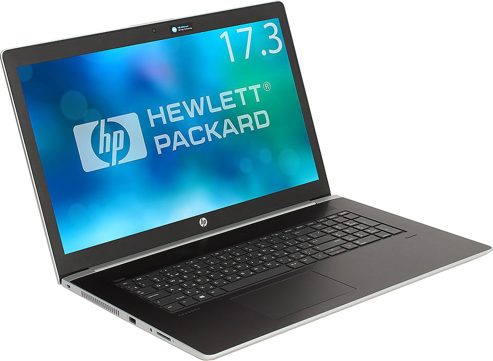 17.3 Ноутбук HP Probook 470 G5 2UB73EA, серебристый легкий ноутбук