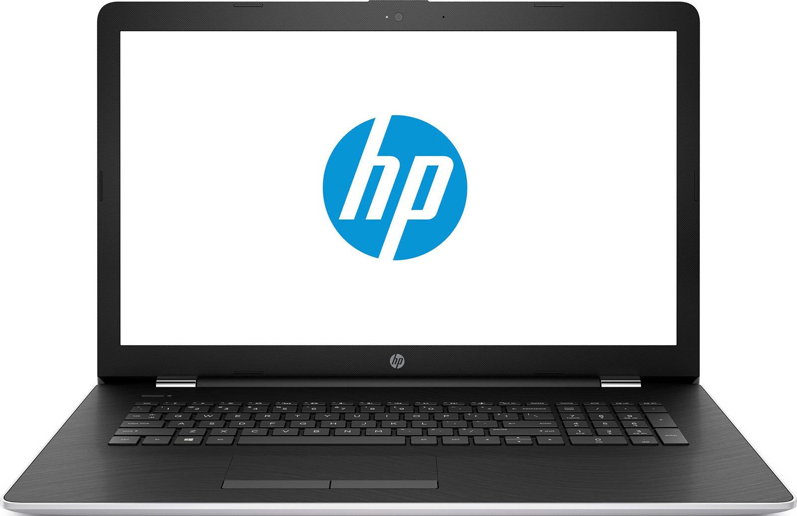 Ноутбук HP 17-ak015ur 1ZJ18EA, серебристый ноутбук hp 17 y021ur x7j08ea
