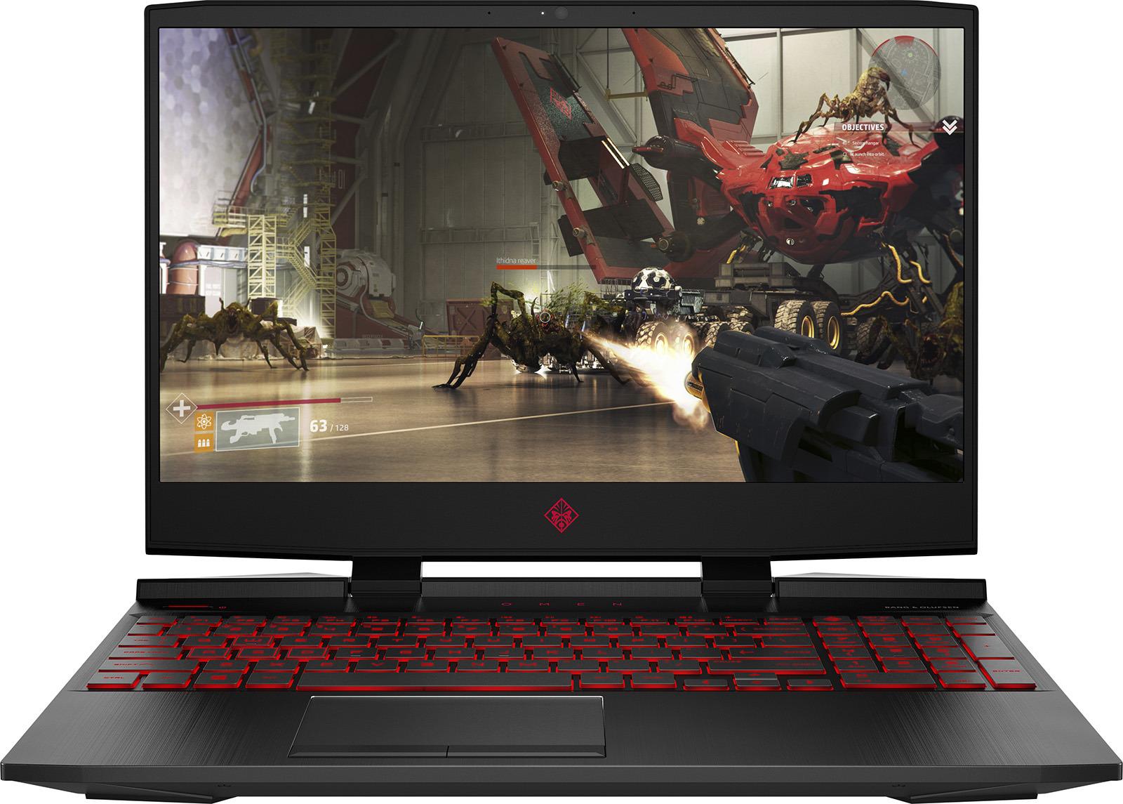 15.6 Игровой ноутбук HP Omen 15-dc0015ur 4GW13EA, черный игровой ноутбук hp omen 15 dc0001ur 4gz73ea 15 6 черный