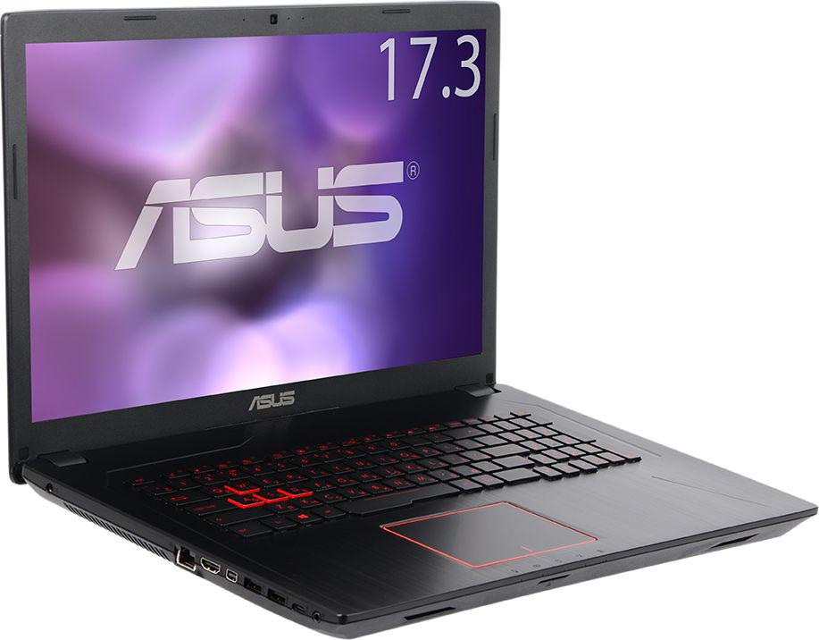 Игровой ноутбук ASUS FX753VD 90NB0DM3-M09520, черный fx753vd gc482t