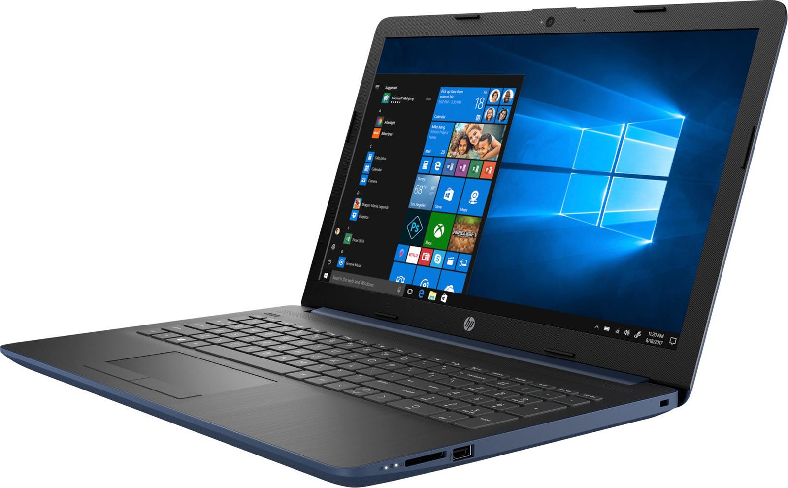 15.6 Ноутбук HP 15-db0130ur 4JV83EA, синий ноутбук синий