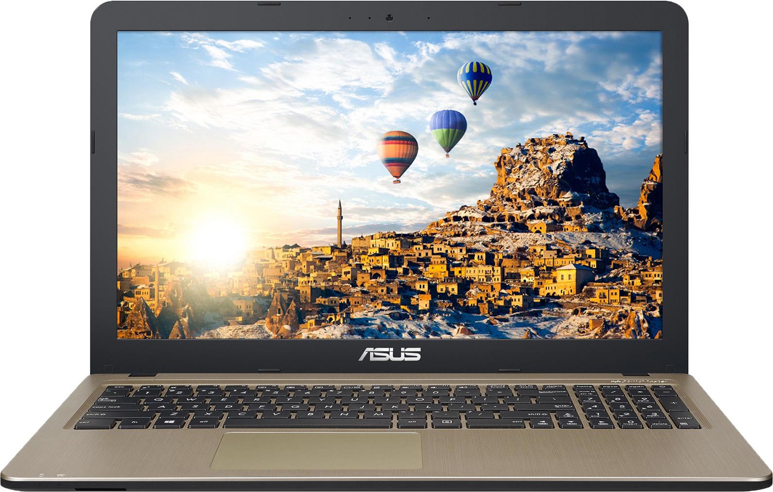 15.6 Ноутбук ASUS X540UA 90NB0HF1-M08730, золотой, черный ноутбуки цены и характеристики