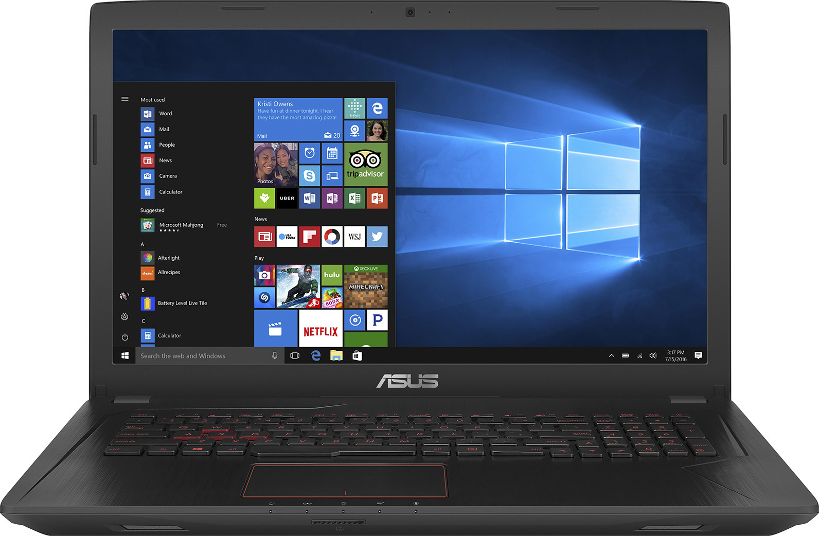15.6 Ноутбук ASUS D540YA 90NB0CN1-M11800, черный d540ya xo791t