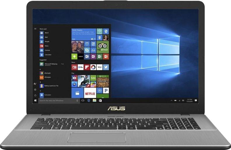 17.3 Ноутбук ASUS VivoBook Pro 17 N705UF 90NB0IE1-M01760, темно-серый ноутбук asus vivobook pro 15 n580gd e4128t 90nb0hx4 m02950