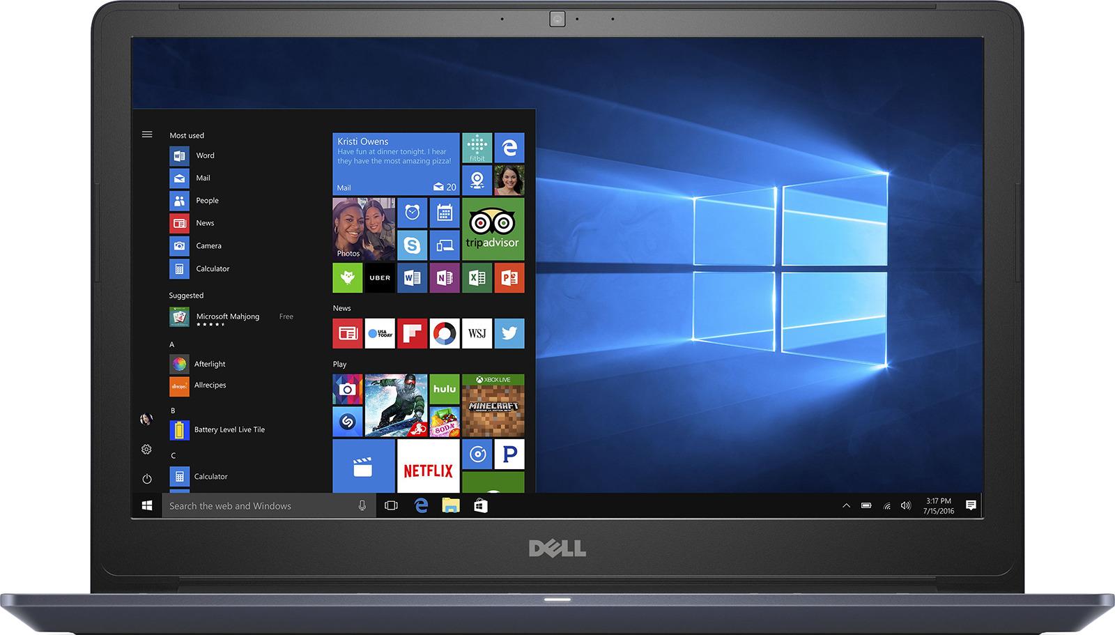 15.6 Ноутбук Dell Vostro 5568 5568-7226, синий ноутбук синий