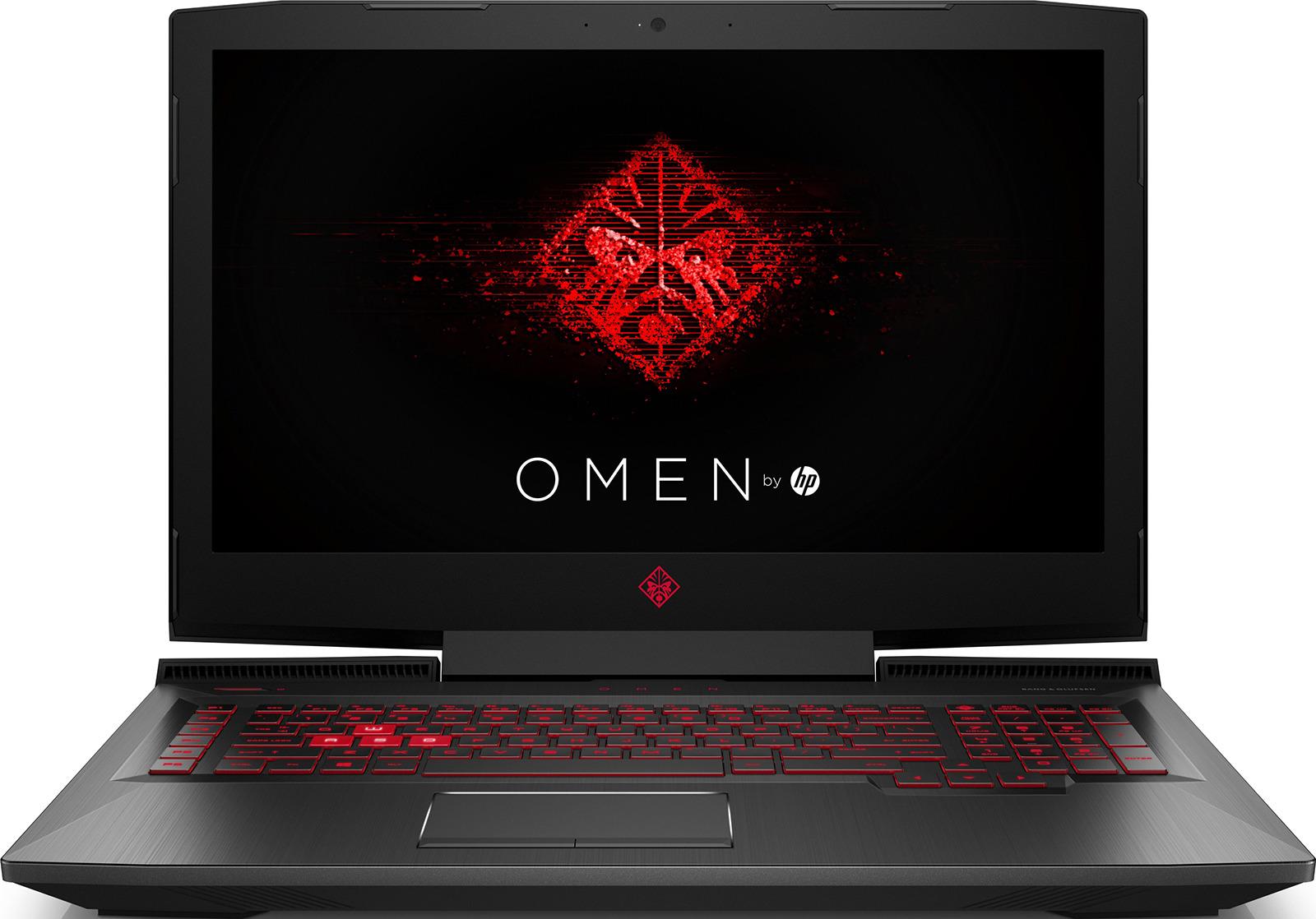 17.3 Игровой ноутбук HP Omen 17-an120ur 4JU05EA, черный игровой ноутбук hp omen 15 dc0001ur 4gz73ea 15 6 черный