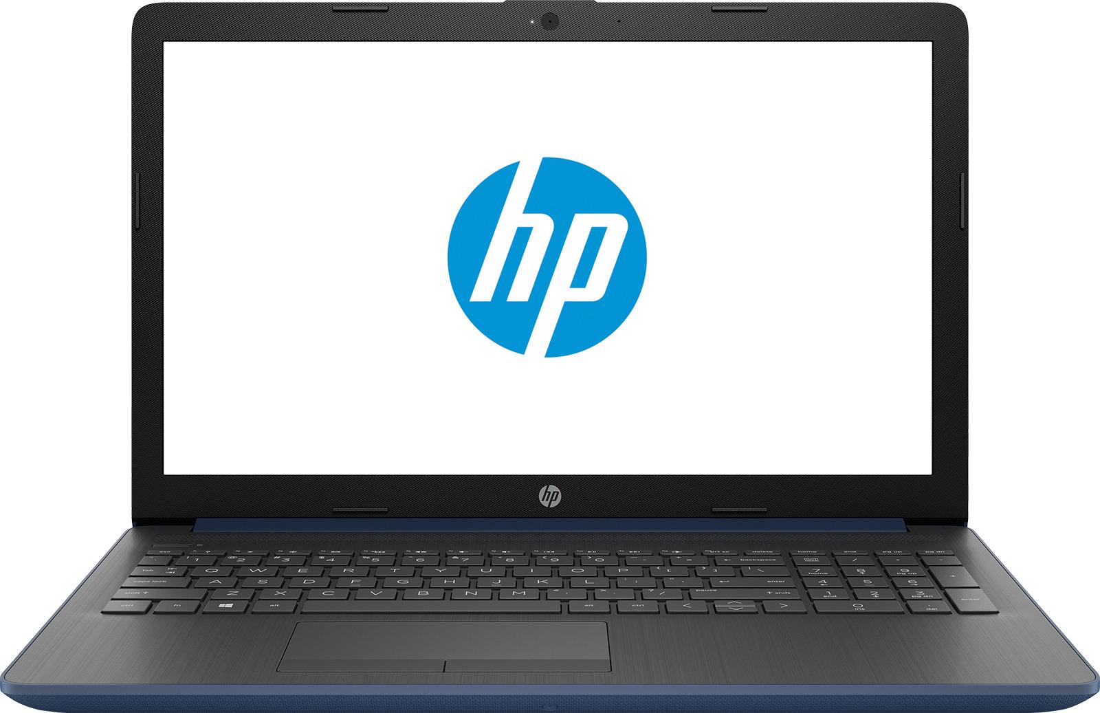 15.6 Ноутбук HP 15-db0061ur 4KG34EA, синий ноутбук синий