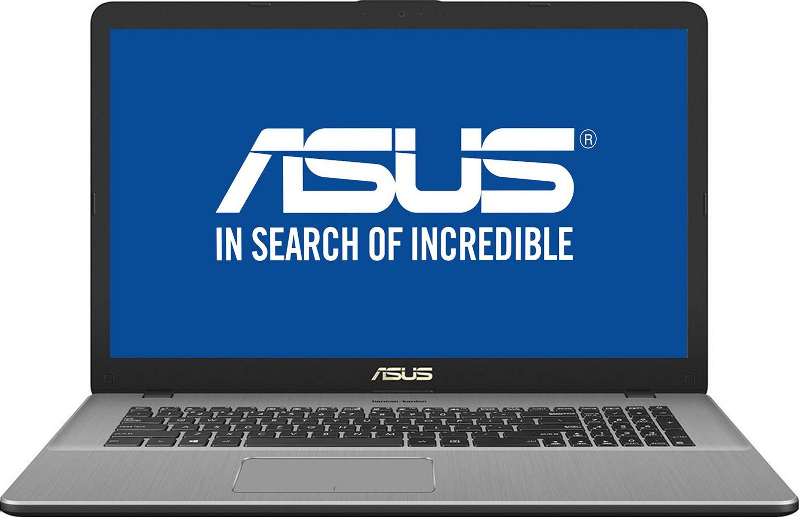 17.3 Ноутбук ASUS VivoBook Pro 17 N705UF 90NB0IE1-M01770, серый ноутбук asus vivobook pro 15 n580gd e4128t 90nb0hx4 m02950