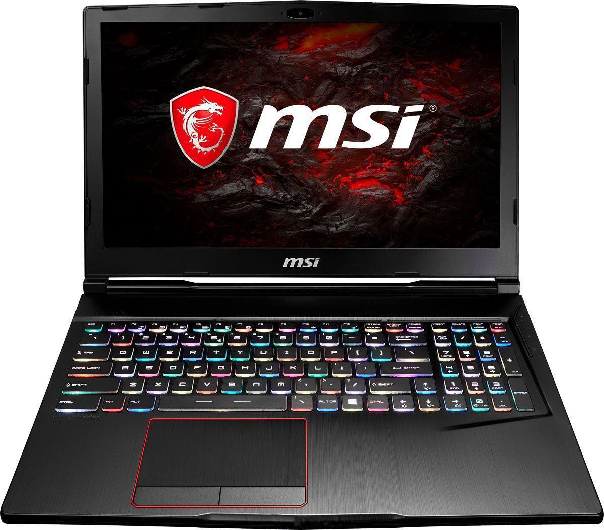 Игровой ноутбук MSI GE63 Raider RGB 8RF 9S7-16P512-207, черный