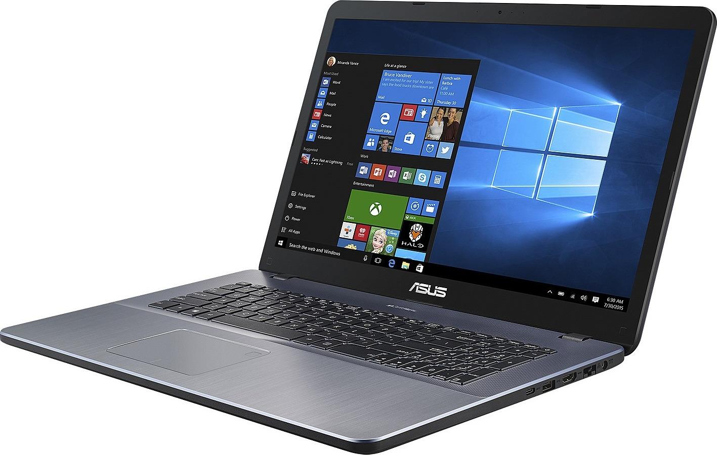 "17.3"" Ноутбук ASUS VivoBook 17 X705MA 90NB0IF2-M00700, серый"