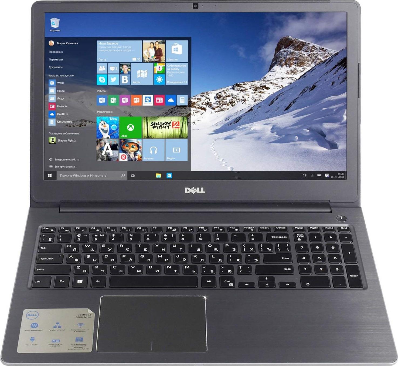 15.6 Ноутбук Dell Vostro 5568 5568-7233, золотой ноутбук dell vostro 5568 15 6 1920x1080 intel core i5 7200u 1 tb 4gb nvidia geforce gt 940mx 2048 мб серый windows 10 home 5568 7219