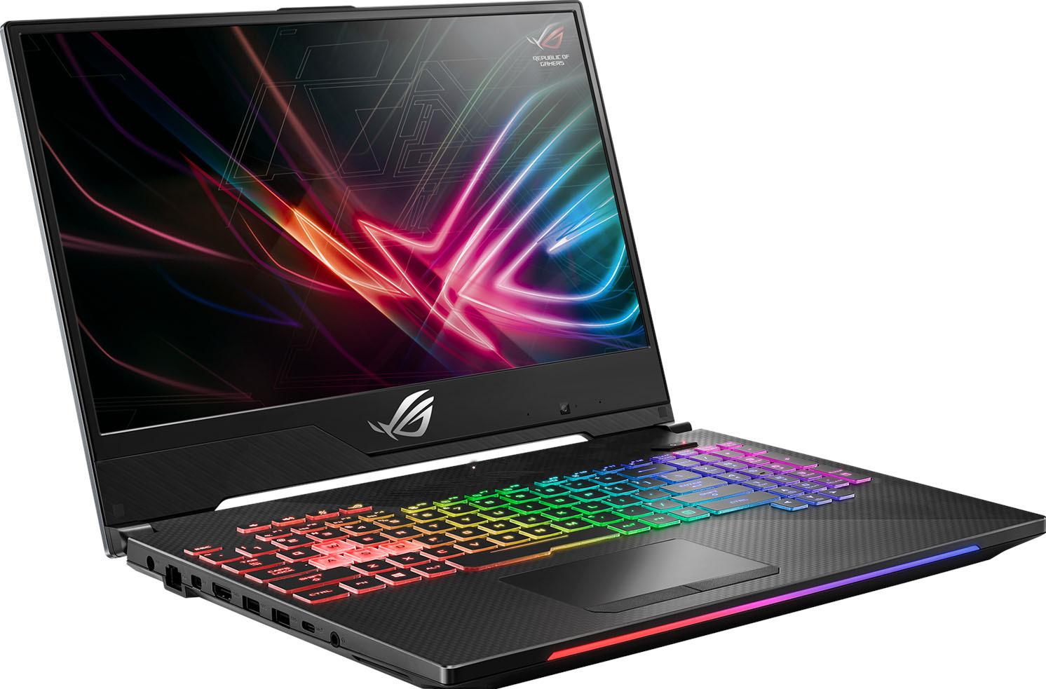 "17.3"" Игровой ноутбук ASUS ROG Strix SCAR II GL704GM 90NR00N1-M01220, темно-серый, серый"