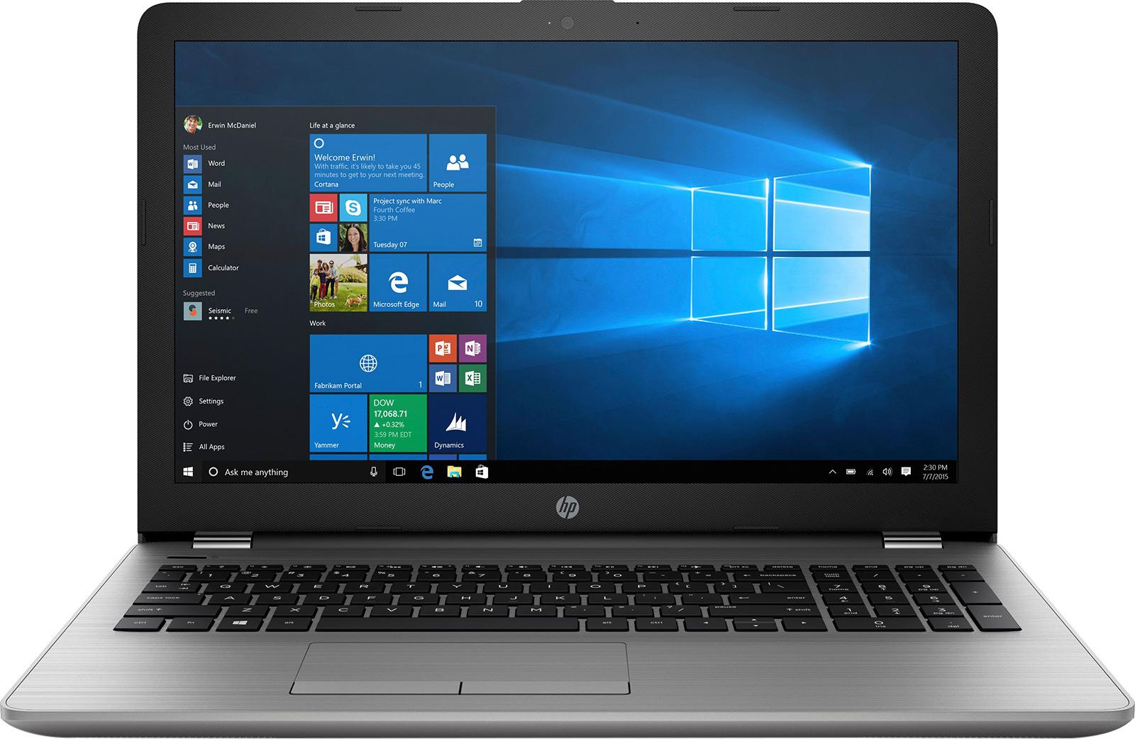 лучшая цена Ноутбук HP 250 G6 1XN69EA, серебристый