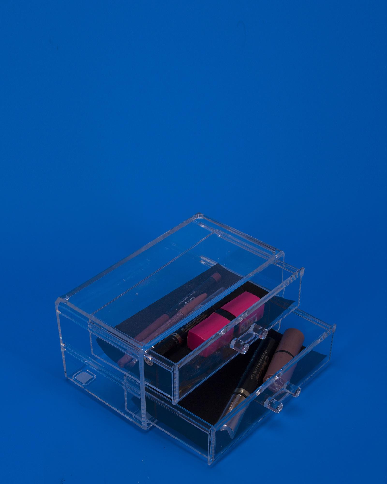 Органайзер для косметики IsmatDecor, S-303, прозрачный органайзер подвесной с 6 отделениями