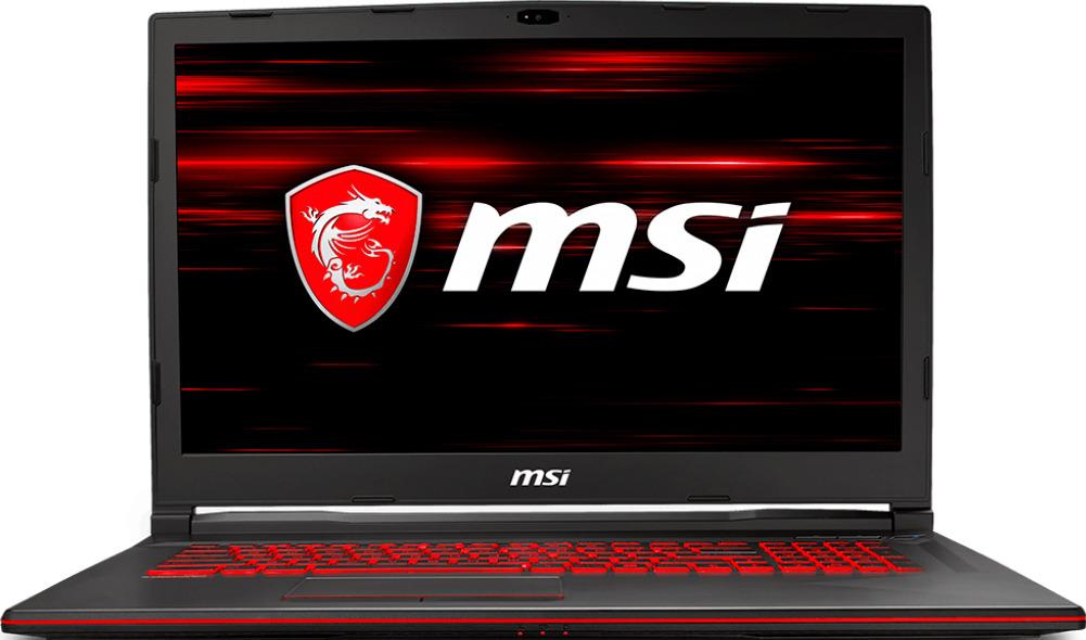 """17.3"""" Игровой ноутбук MSI GL73 8RD 9S7-17C612-246, черный"""