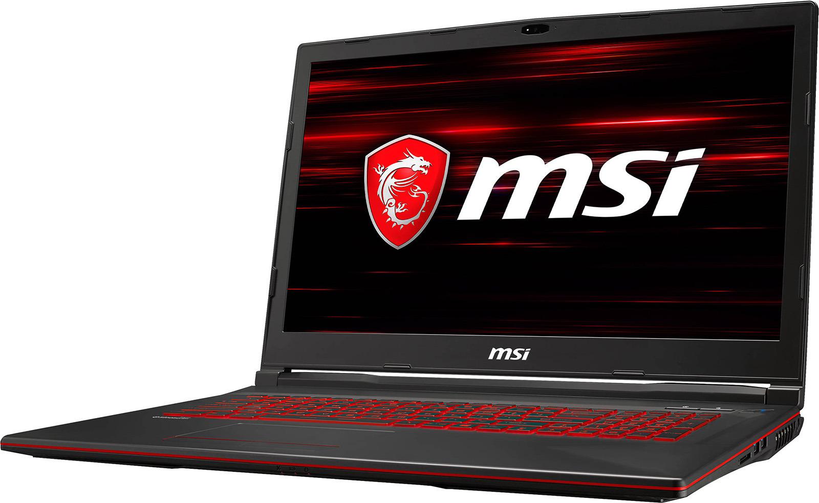 """17.3"""" Игровой ноутбук MSI GL73 8RC 9S7-17C612-252, черный"""
