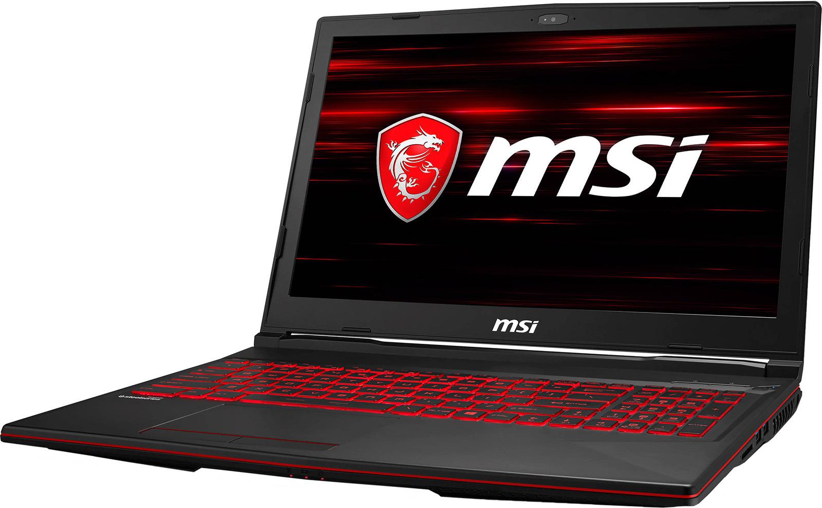 "15.6"" Ноутбук MSI GL63 8RC 9S7-16P612-469, черный"