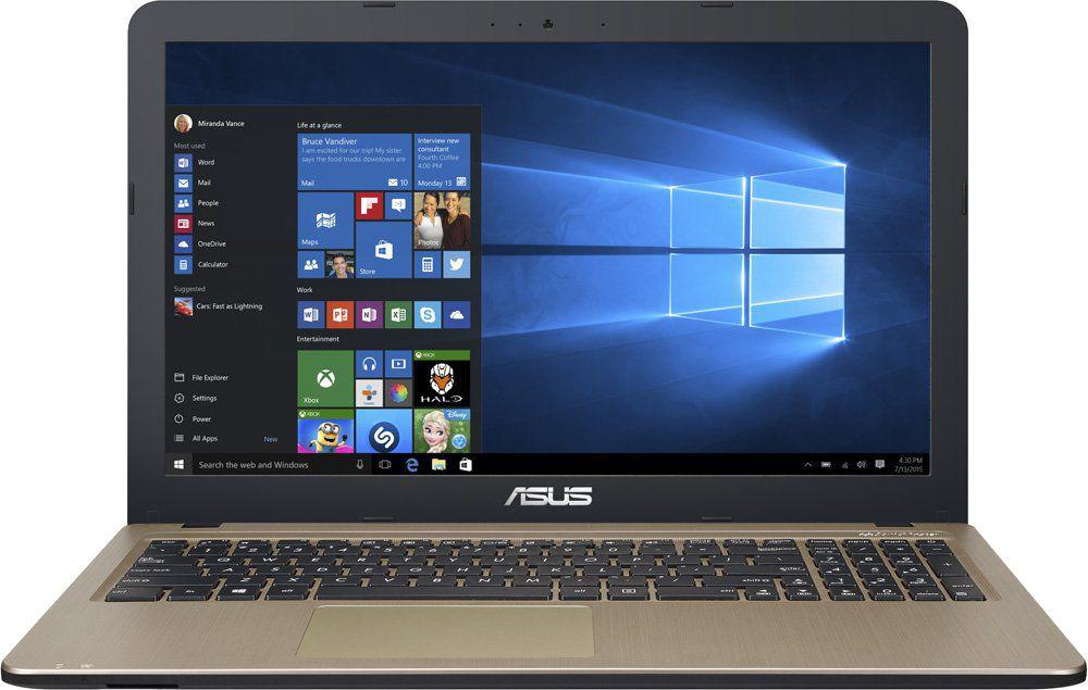 Ноутбук ASUS VivoBook X540UB, 90NB0IM1-M03610, 15.6, черный ноутбук asus x540nv gq004t 90nb0hm1 m00060