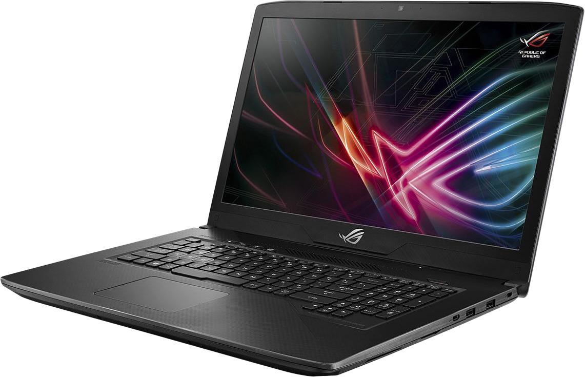 17.3 Игровой ноутбук ASUS ROG Strix SCAR GL703GM 90NR00G1-M04300, черный ноутбук lenovo legion y530 15ich core i7 8750h 16gb 2tb 256gb ssd nv gtx1060 6gb 15 6 fullhd dos black