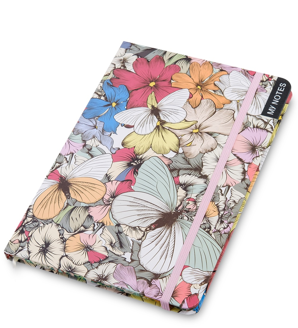 Блокнот Art West ''Тропические бабочки'' недатированный, линованный, 65073