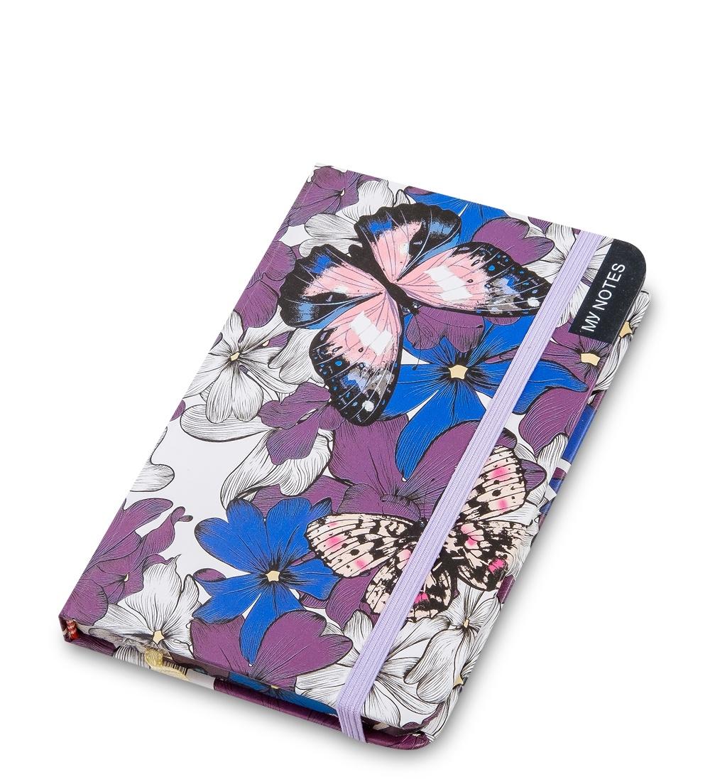 Блокнот Art West Тропические бабочки недатированный, линованный, 6507765077BM-19/1 Блокнот мал. ''Тропические бабочки'' (твердая обложка)