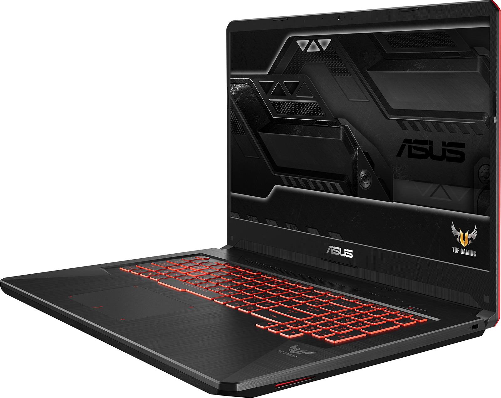 17.3 Игровой ноутбук ASUS TUF Gaming FX705GD 90NR0112-M02970, черный описание ноутбука asus