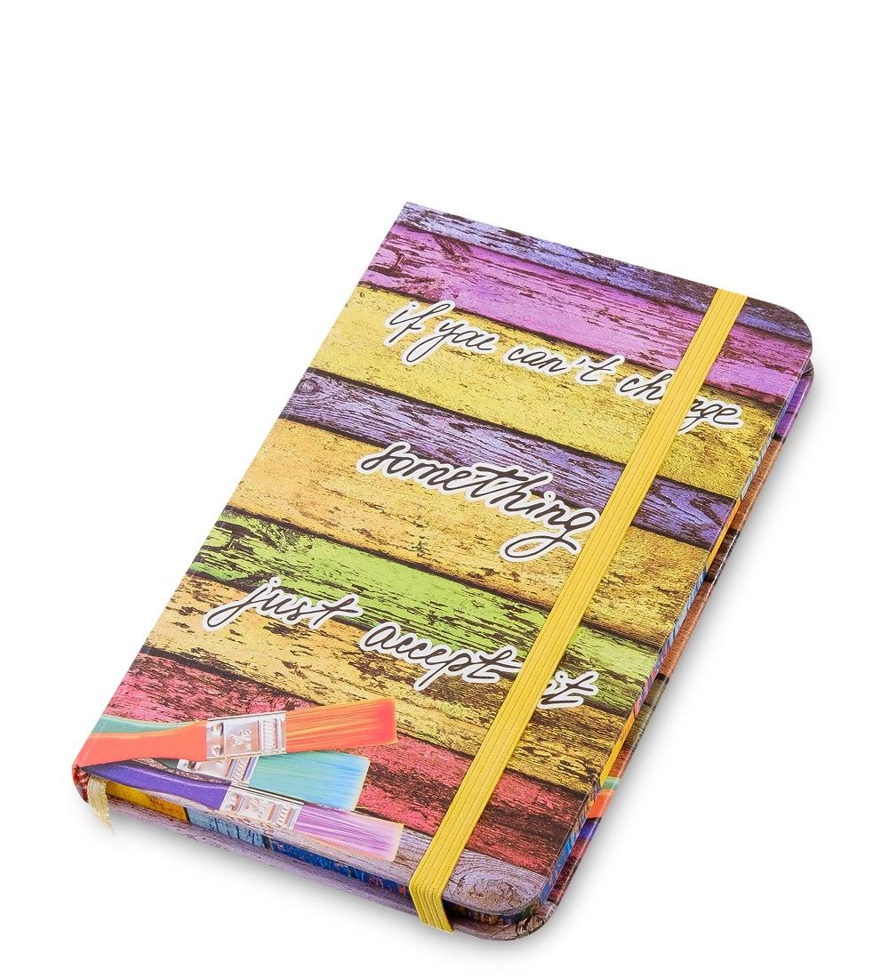 Блокнот Art West Радуга цвета, недатированный, линованный, 6515065150BM-37/2 Блокнот мал. ''Радуга цвета'' (твердая обложка)