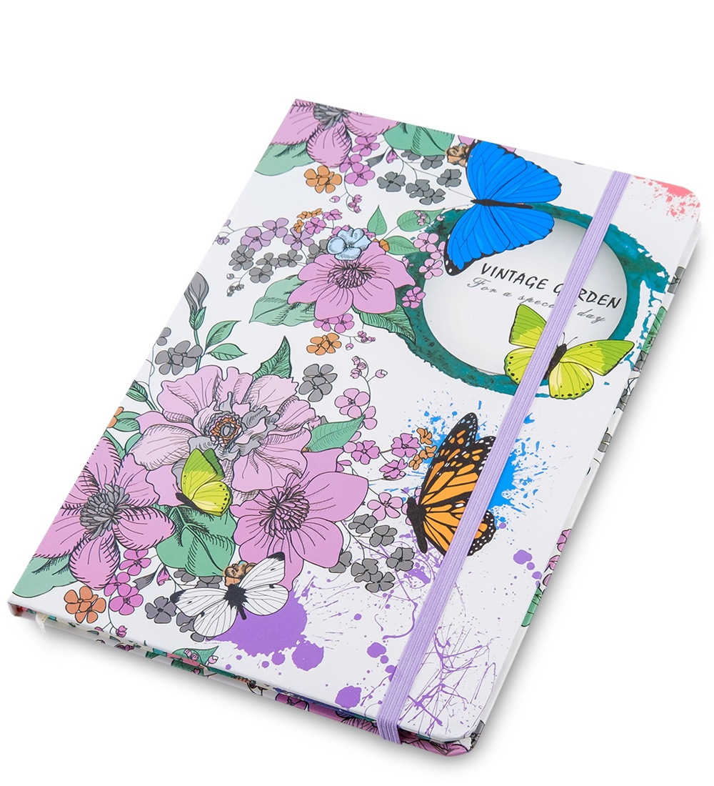 Блокнот Art West ''Винтажный сад'', недатированный, линованный, 65172 винтажный декупаж ретромобиль