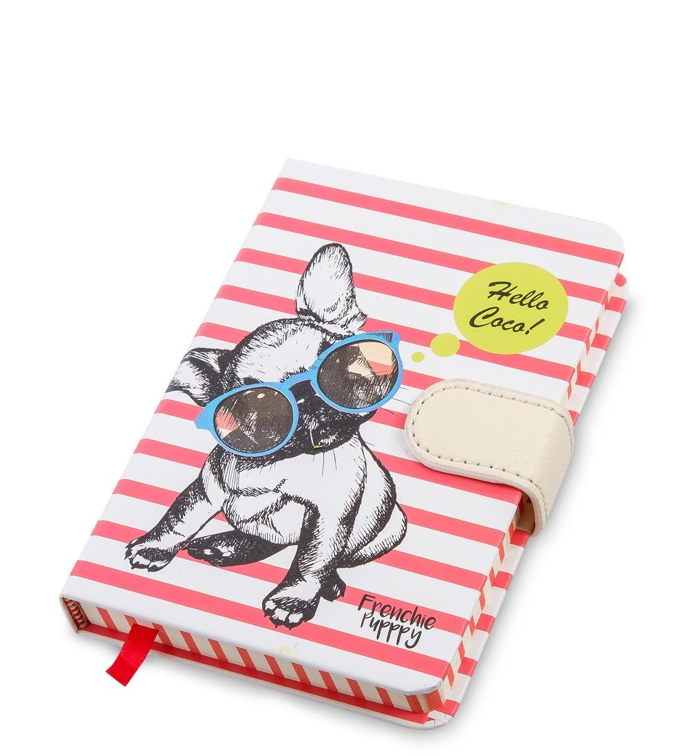 Блокнот Art West Дружелюбный пес, недатированный, линованный, 6518765187BM-46/3 Блокнот мал. ''Дружелюбный пес'' (твердая обложка)