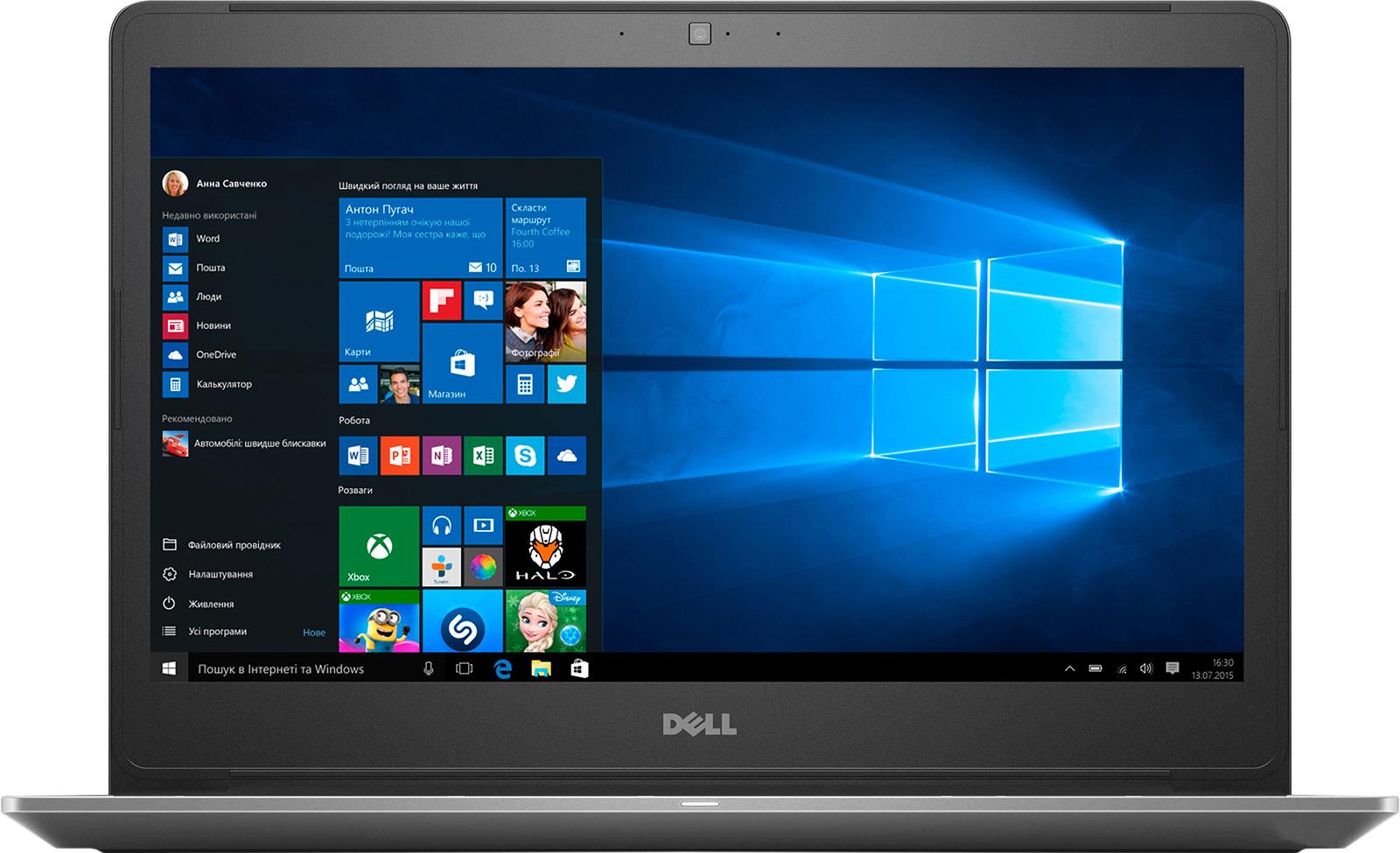 15.6 Ноутбук Dell Vostro 5568 5568-7240, серый ноутбук dell vostro 5568 5568 7257 gray 15 6 fhd i5 7200u 8gb 256gb ssd gtx940mx 2gb w10