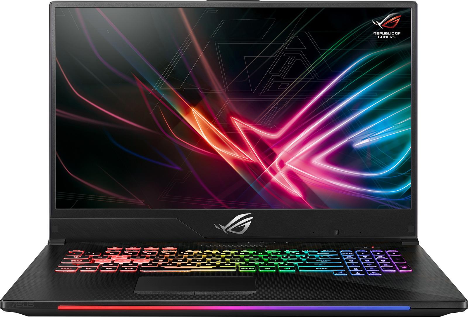 """17.3"""" Игровой ноутбук ASUS ROG Strix SCAR II GL704GM-EV006T 90NR00N1-M00080, серый металлик"""