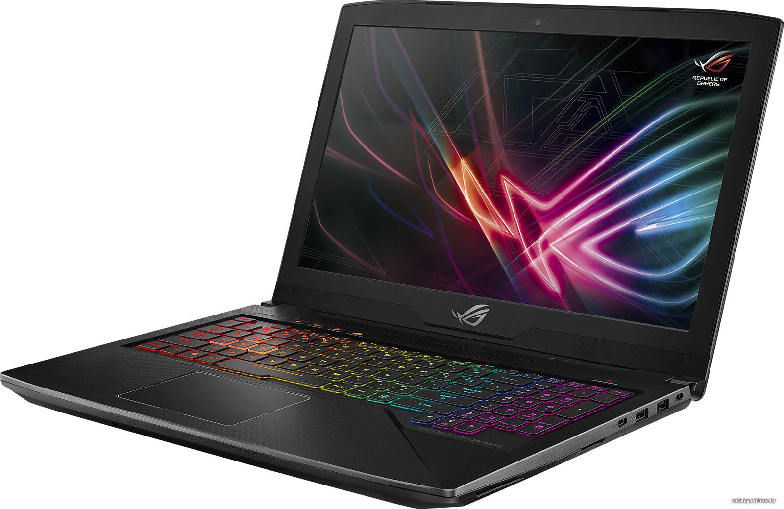 15.6 Игровой ноутбук ASUS ROG Strix SCAR GL503GE 90NR0081-M05050, серый металлик описание ноутбука asus