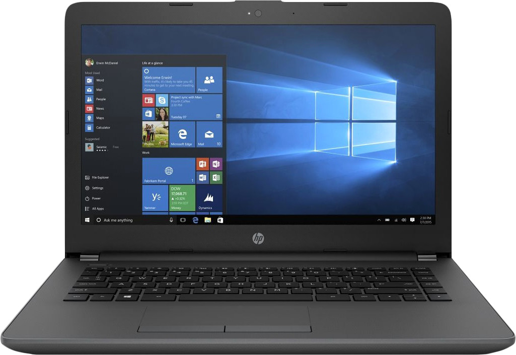 14 Ноутбук HP 240 G6 4BD05EA, черный