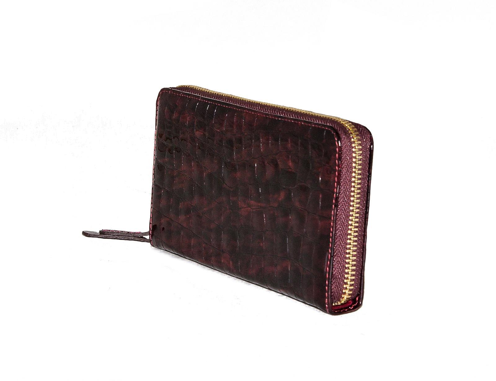 Портмоне женское Frija, 15-209-11-005-1, бордовый, черный кошелёк frija