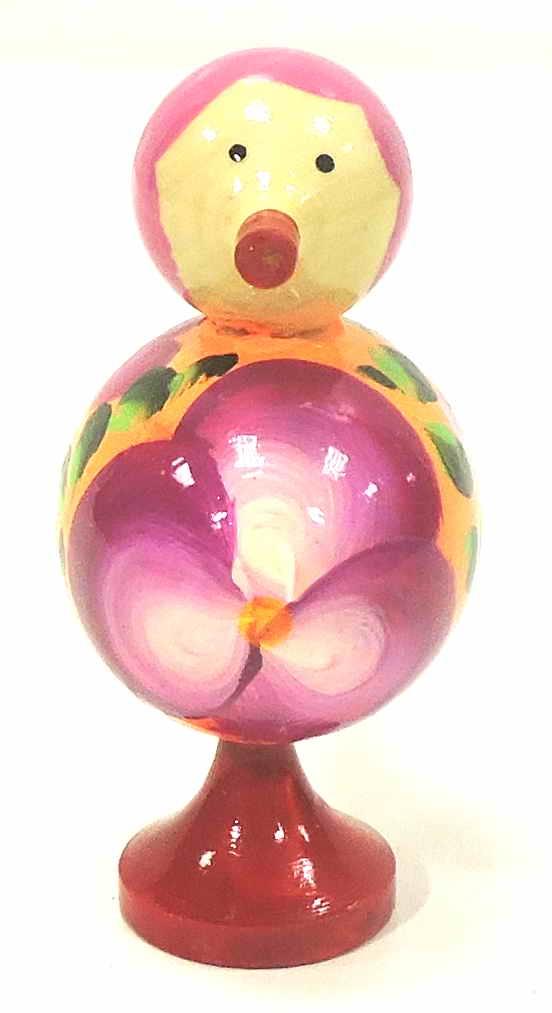 Игрушка детская Taowa Птичка, оранжевый