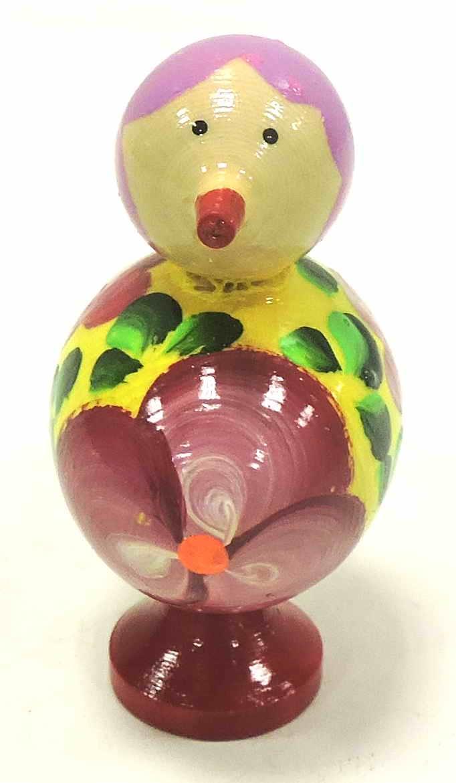 Игрушка детская Taowa Птичка, желтый
