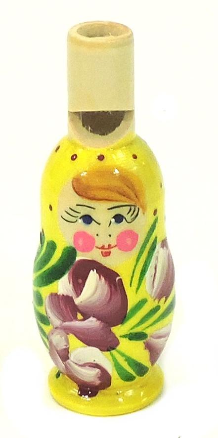 Игрушка детская Taowa Матрешка, желтый