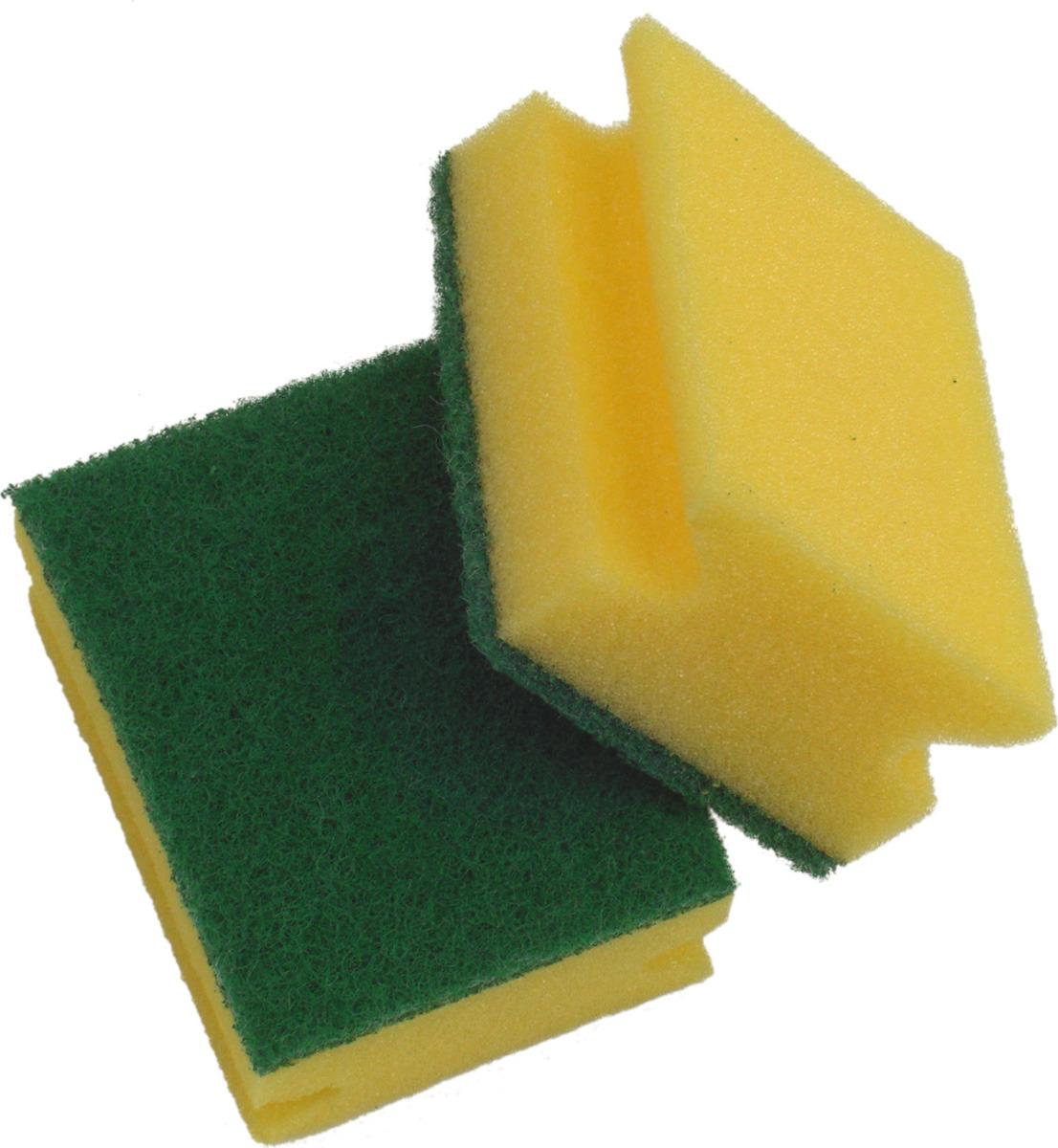 Губка Apex, 16018-A, 7 х 9 х 4,5 см, 2 шт 1 pieces miniature deep groove ball bearing 16018 16018rs 16018 2rs 16018 2rs size 90x140x16mm