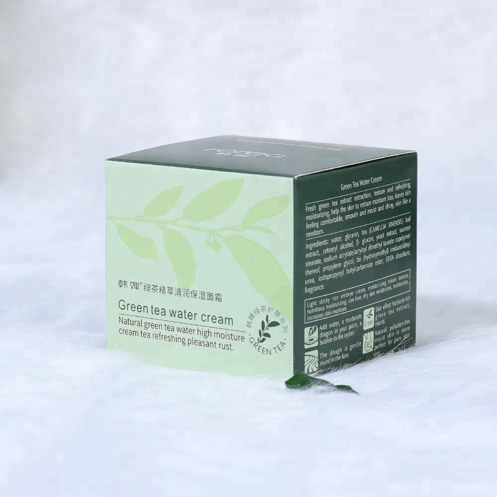 Крем для ухода за кожей HANCHAN увлажняющий крем для лица с зеленым чаем, 50 гр.  HANCHAN