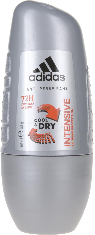 "Adidas Дезодорант-антиперспирант ролик ""Cool&Dry Intensive Anti-Perspirant Roll-On"", мужской, 50 мл"