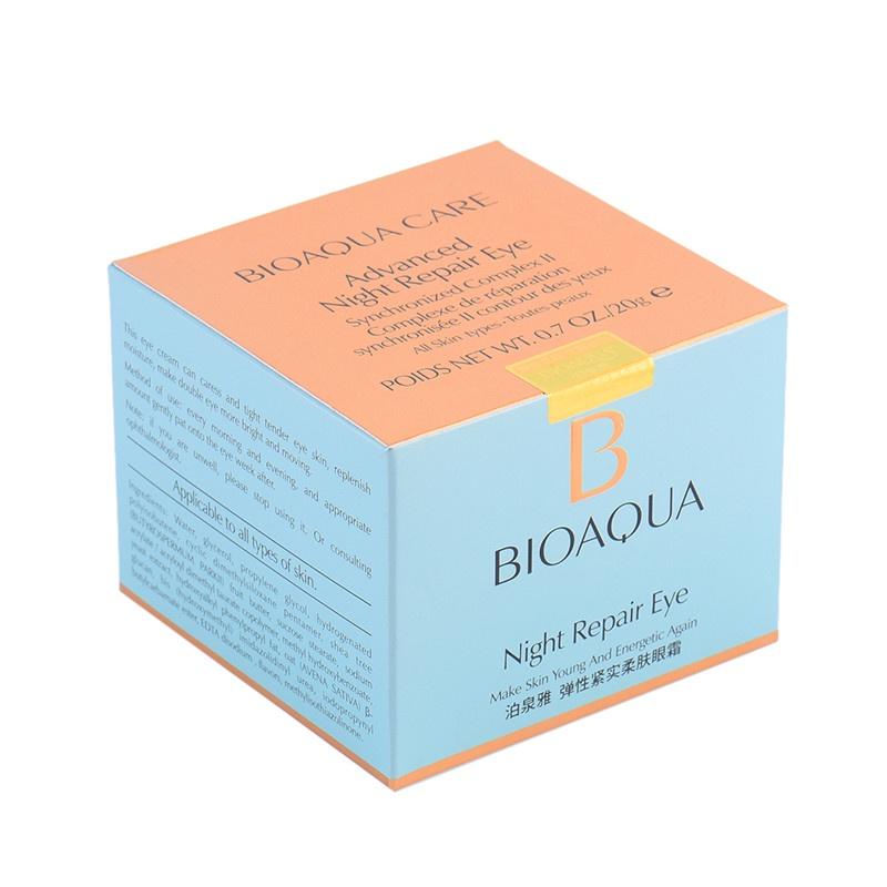 Bioaquaночной восстанавливающий крем для кожи вокруг глаз, 20 гр.  Bioaqua
