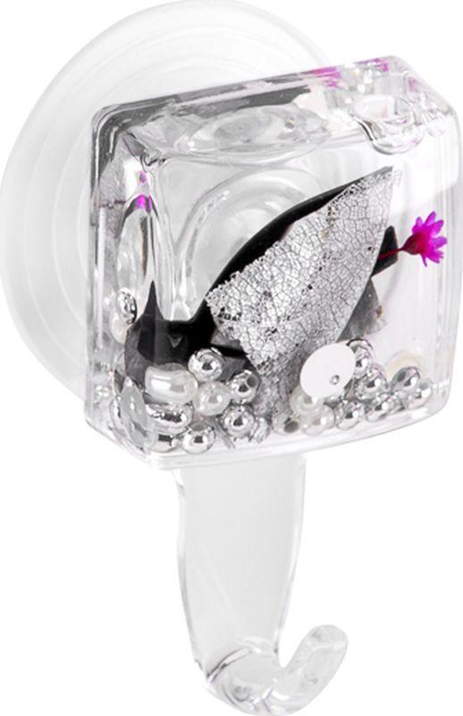 Крючок для ванной Verran Silven, 231-33, серебристый, 4 х 7,5 х 2,5 см