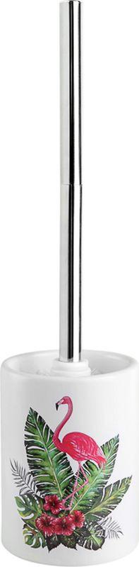 Ершик для унитаза Verran Flamingo, 790-29, белый, 9,5 х 37,5 х 9,5 см