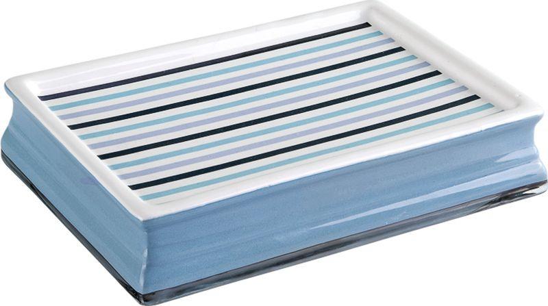 Мыльница Verran Delmar, 880-34, синий, 10 х 3 х 14 см мыльница verran lavender 880 14