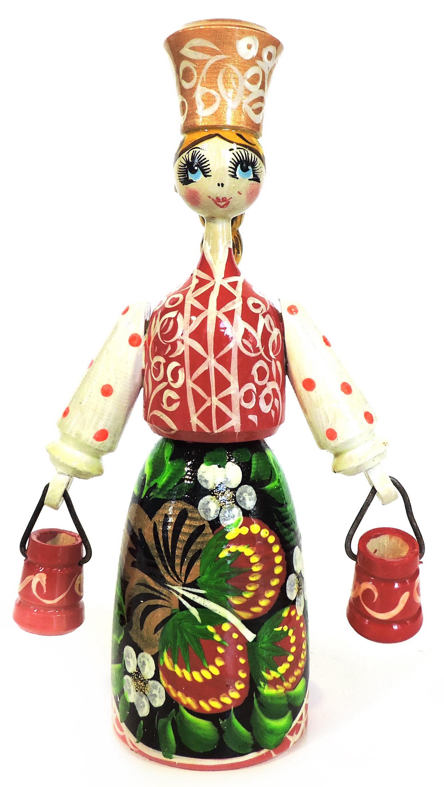 Статуэтка Taowa Кукла, 038-192-1, красный
