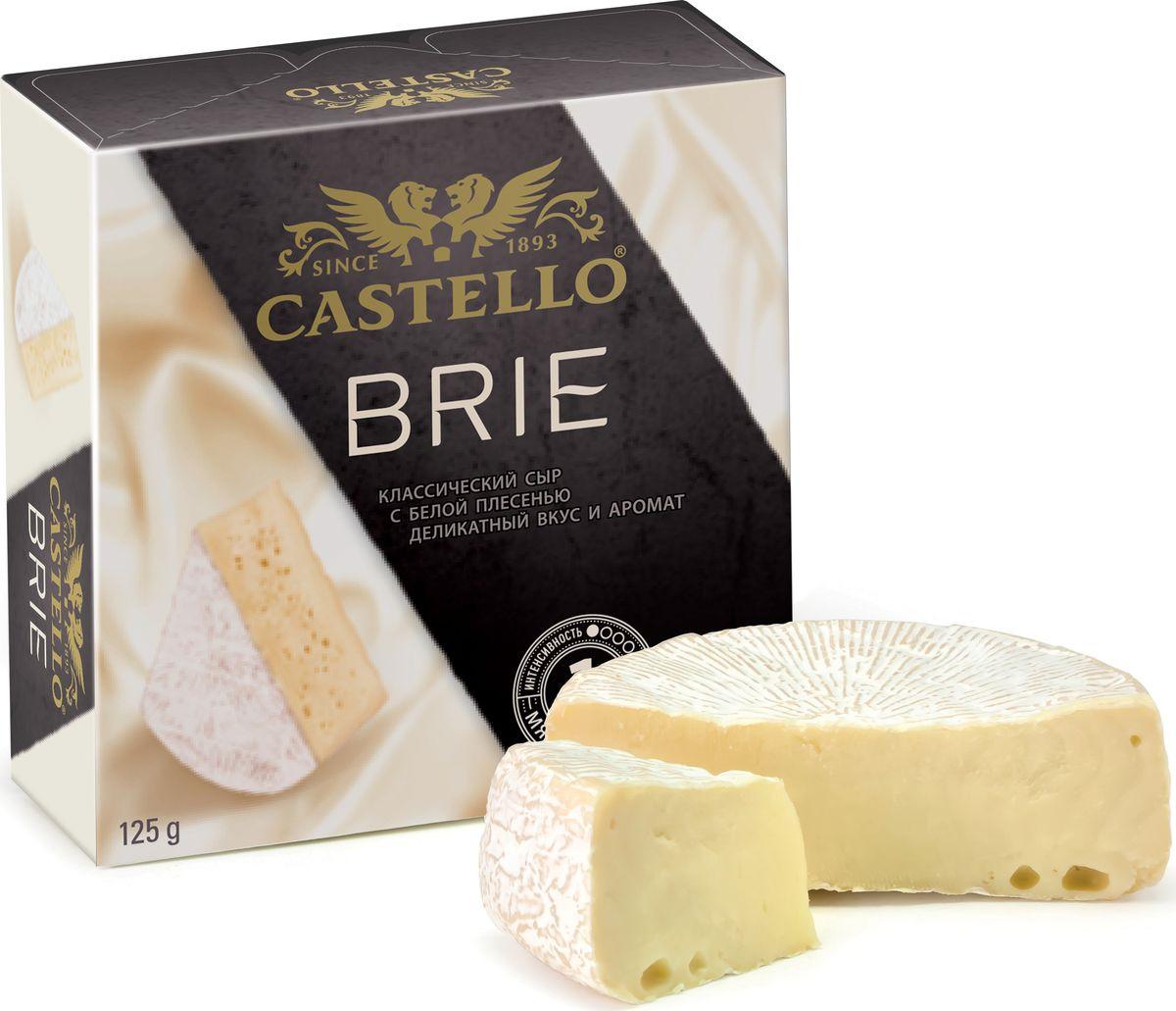 Сыр с белой плесенью Castello Brie, 125 г цена 2017