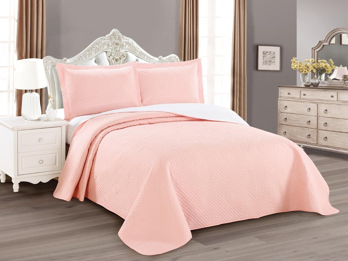 цена на Покрывало с наволочками Cleo Luna, 240/011-LN, светло-розовый, 240 х 260 см, наволочки 50х70+5