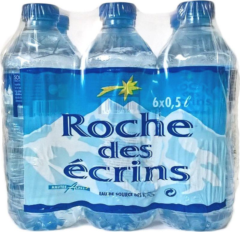 Вода Roche Des Ecrins минеральная природная питьевая столовая негазированная, 6 шт по 0.5 л